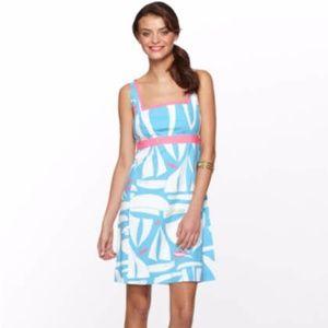 Lilly Pulitzer Take Me Away Addie Dress sz 10